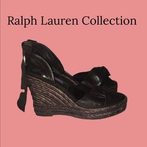 Ralph Lauren Collection Wedges. NWT